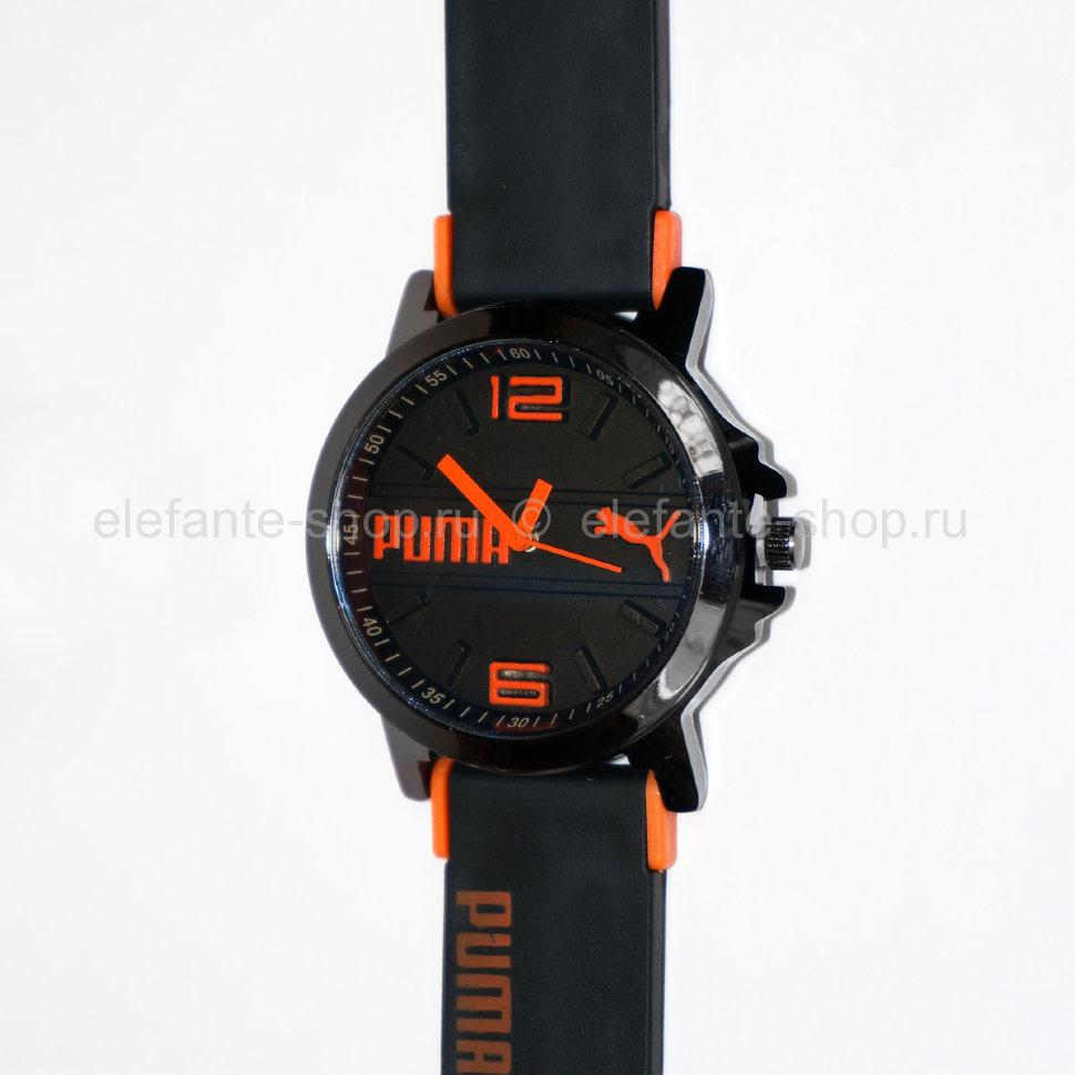 Часы PUMA PM#01 black-orange       Артикул: 29657