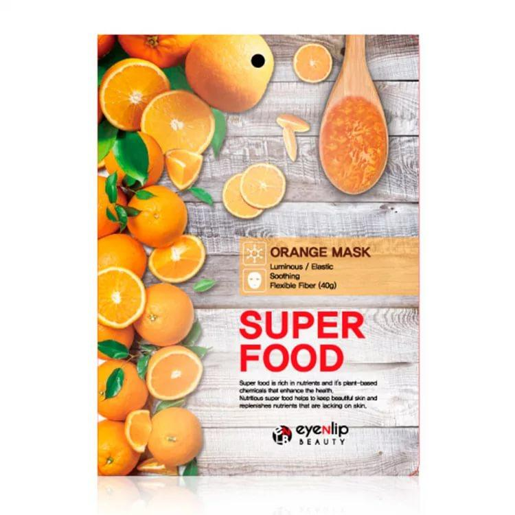 EYENLIP SUPER FOOD Маска для лица тканевая EYENLIP SUPER FOOD ORANGE MASK  23мл